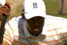 Tiger, en la pelea tras dos rondas aunque el codo le genera dolor