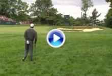 Tiger Woods: Grandes golpes, errores y gestos de dolor, en la 2ª jornada (VÍDEO)