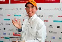 Carlota Ciganda ganó en Múnich y aseguró la Solheim Cup