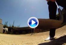 ¿Que ocurre si pones una cámara en una bola? (VÍDEO)