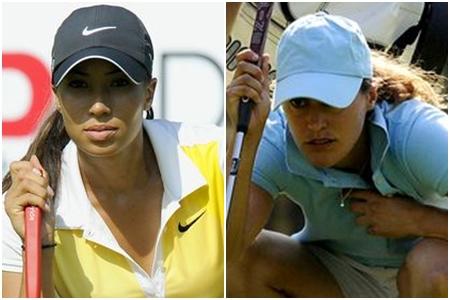 Cheyenne Woods y Tania Elósegui