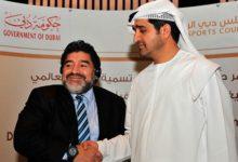 Maradona promocionará el Clásico de Dubai de golf