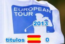 2013 se le atraganta al golf masculino español: hacía 20 años que no se registraban victorias