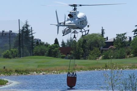 Helicóptero Centro Nacional