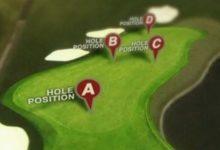 Tú decides la posición de bandera en el 15 del US PGA Champ.
