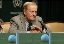 Jack Nicklaus culpa a la bola del juego lento