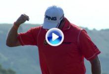 Este gran eagle de Westwood le abrió el camino hacia el liderato (VÍDEO)