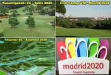 El deporte del golf en la candidatura de Madrid 2020 supera a Estambul y Tokio