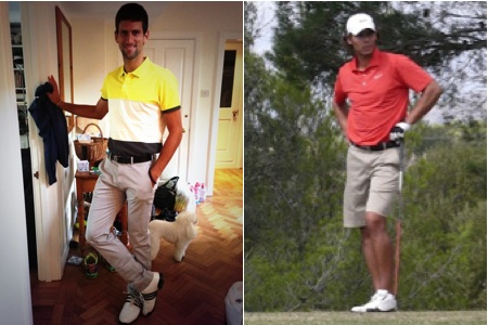 Nadal-Djokovic, ¿futuro partidazo de golf?