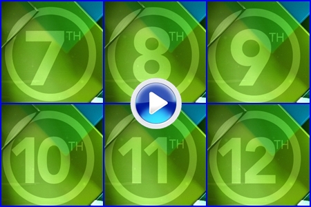 VÍDEO: Conozca el campo del 4º 'Grande', Oak Hill CC. Hoyos del 7 al 12