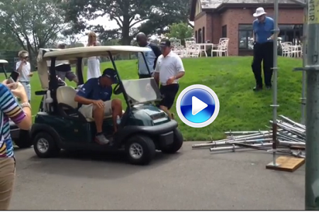 Phil Mickelson inspeccionó la sede del US PGA (VIDEO)