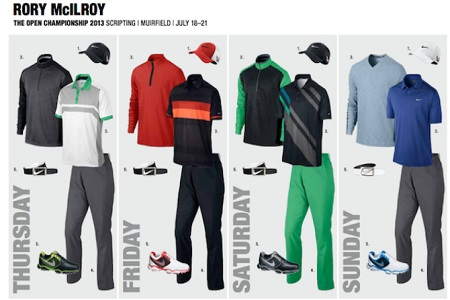 Ropa Rory McIlroy