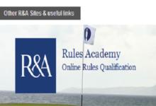 El Royal & Ancient lanza un curso online de reglas