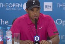Tiger y su lesión: 'El codo se encuentra muy bien'