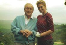 Arnold Palmer ejerció de profesor de la actriz y modelo Kate Upton