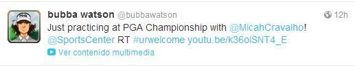 Bubba Watson PGA Twitter
