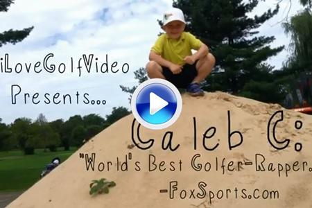 Caleb C, el rapero golfista de 5 años presenta su nuevo vídeo: 'It's Humpday!'