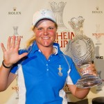 Caroline Hedwall becomes the first player ever to win all 5 of her points in a Solheim Cup