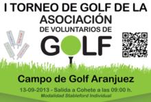I Torneo de la Asociación de Voluntarios de Golf