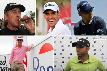 Españoles en el US PGA 2013
