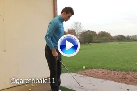 Gareth Bale, un golfista galés para el Real Madrid (VIDEO)
