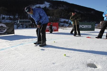 Golf en la nieve