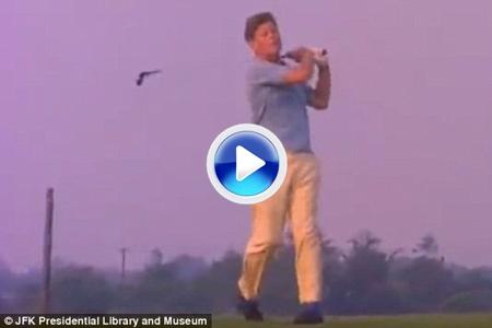 El swing de J.F. Kennedy que nunca vio A. Palmer