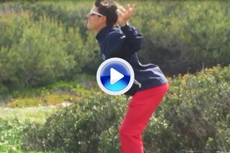 José Bondía: cómo calentar antes de comenzar una ronda de golf