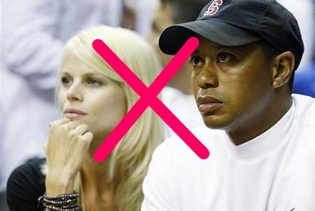 Tiger Woods rompió con su entonces mujer por sus infidelidades