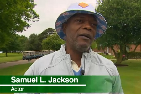 Samuel L.Jackson, con claúsula de golf en Hollywood