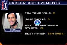 Seve, en el 'top10' que nunca ganó el US PGA