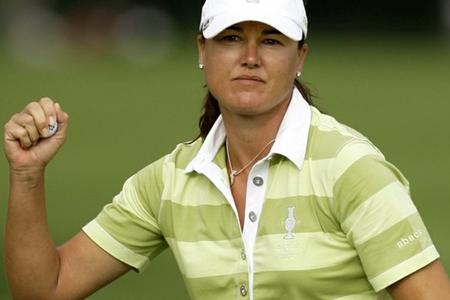 Sophie Gustafson Solheim Cup 2010 Foto AP