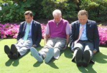 Los jefazos de la PGA también hacen 'Dufnering'