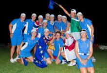 Europa logró una victoria histórica (18-10) en la Solheim Cup
