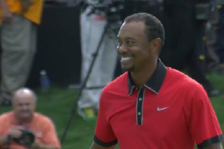 Tiger Woods, tras ganar el Bridgestone Invitational