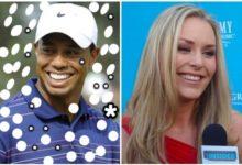 Tiger Woods estudia ir a Europa en febrero para acompañar a Lindsay Vonn a las pruebas de esquí
