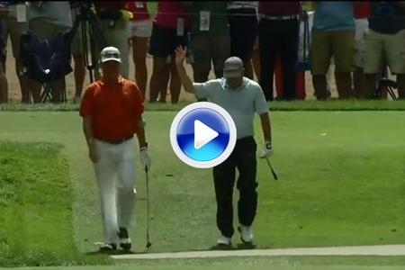Tim Clark firmó el primer hoyo en uno del US PGA con Jiménez de testigo (VÍDEO)