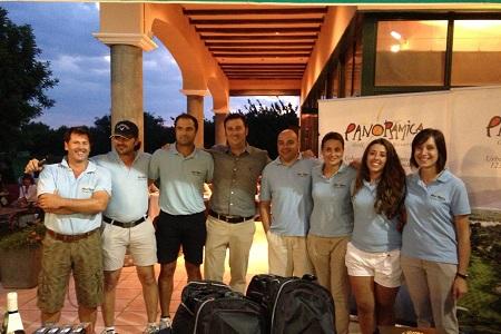 Equipo de Panorámica Golf. Foto: Panorámica
