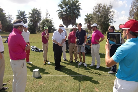 Clase magistral del profesor Andy Plummer en Foressos Golf