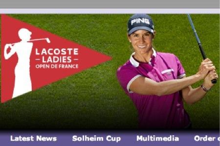 Azahara Muñoz, reclamo del Lacoste Open de Francia