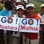 Azahara Muñoz arrastra simpatizantes de todos los continentes