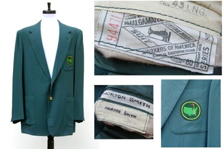 La Chaqueta Verde de Horton Smith batió todos los records: 682.299 $
