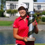 Lydia Ko NZ Trophy
