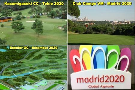 Madrid Estambul Tokio campos 2020