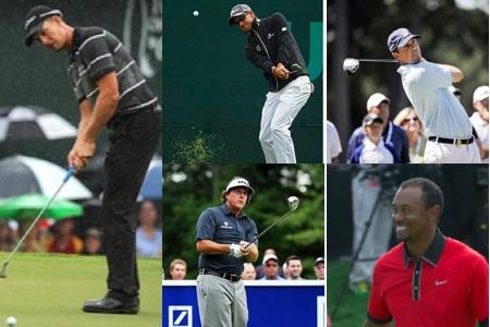 Nominados PGA Tour 2013