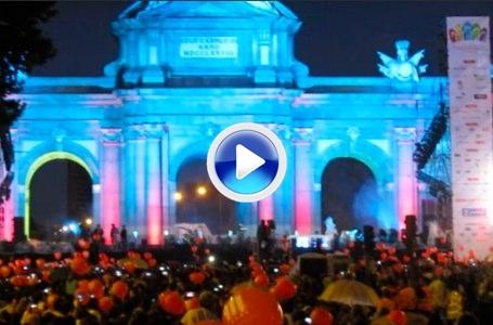 El COI dejó sin fiesta a la Puerta de Alcalá