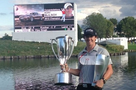 Rory McIlroy,Campeón del BMW Championship 2012. Foto Rory McIlroy