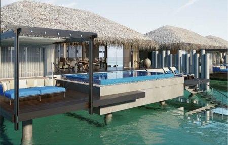 Villas sobre el agua