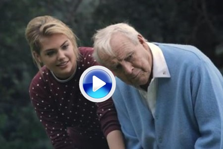 Un consejo de la modelo Kate Upton a Arnold Palmer (VÍDEO)