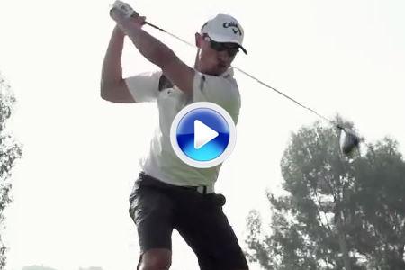 El swing de Jamie Sadlowski, un driver de 400 metros a cámara lenta (VÍDEO)
